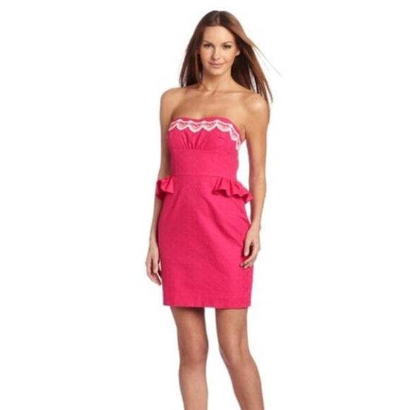 1464956f Lilly Pulitzer Dresses | Nwt Azalea Pink Maybell Dress | Poshmark